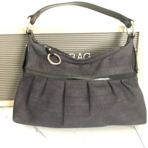 Vintage fendi zucchino bucket hobo bag READ - dyed